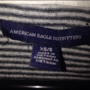 American Eagle Outfitters Other - American eagle black and white striped hoodie