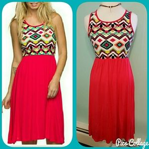 Twilight Gypsy Collective Dresses & Skirts - SALE!  Ruby Aztec Dress