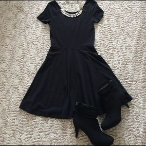 bp Dresses & Skirts - Black pleated dress