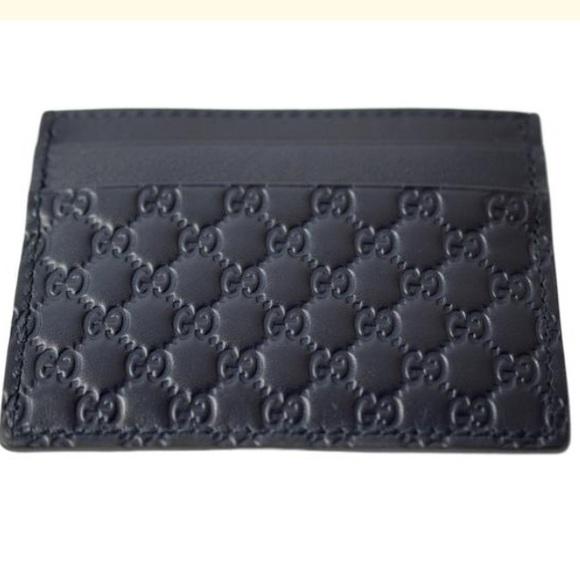 043f6997473 NIB Gucci 262837 GG Money Card Case Leather