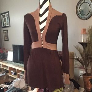 Size small dress/long top