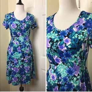 Kim Rogers Dresses & Skirts - Kim Rogers Floral Dress