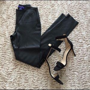 Jimmy Choo Pants - Jimmy Choo H&M black authentic leather leggings
