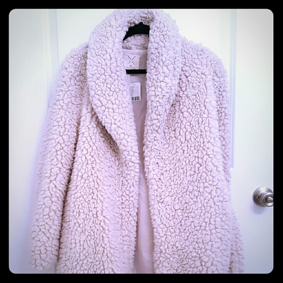 0d3198186a Pins and Needles Sherpa Furry Robe Coat