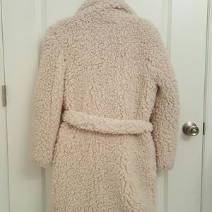 af35f12c74 Urban Outfitters Jackets   Coats - Pins and Needles Sherpa Furry Robe Coat