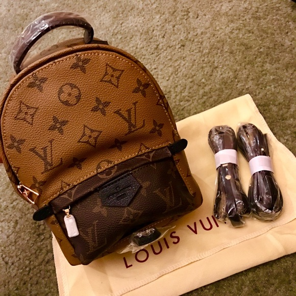 Palm Springs Reverse Monogram Mini Backpack 69ef6a2ea5842