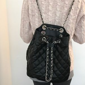 Zara - Zara quilted backpack from Genie aka posh ambassador's ... : quilted rucksack zara - Adamdwight.com