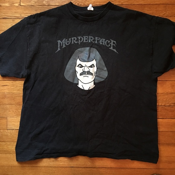 Shirts Metalocalypse Murderface Tshirt Poshmark