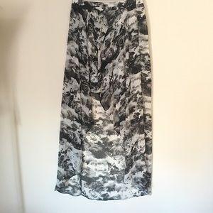 Kimchi Blue Dresses & Skirts - Flowy High-Low Skirt - Short Front, Long Back - 6