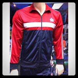 Other - Red & navy blue  Jacket