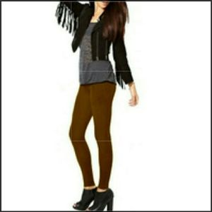 Nicole Miller Pants - Nicole miller brown tights NWT