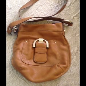 B Makowsky Handbags - B Makowsky cross body leather purse