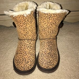 UGG Shoes - CHEETAH UGGS Only worn a few times Great condition