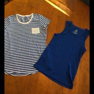 Hanes Other - Girls Shirt & Tank Bundle! Size XL (14/16)