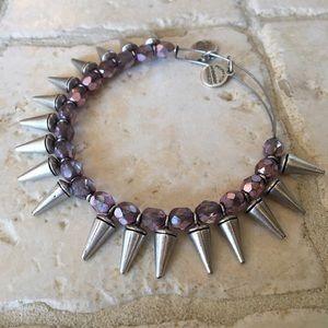 Alex & Ani Spike Bracelet