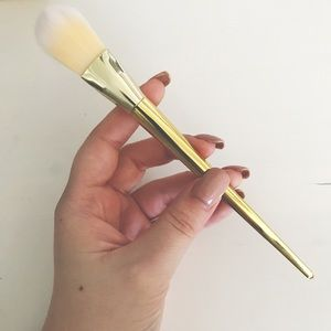 NEW Gold Tappered Makeup Brush