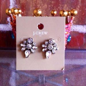 J Crew Factory Crystal Statement Earrings