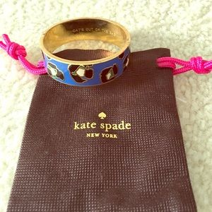 kate spade Jewelry - Cats out of the bag bangle