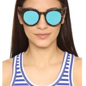 Le Specs Flashy Mirrored Sunglasses