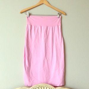 American apparel pink skirt medium