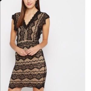 Dresses & Skirts - black lace bodycon dress