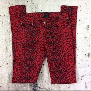 Tripp printed skinny jeans
