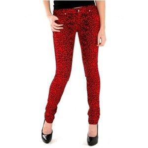 Tripp nyc Denim - Tripp printed skinny jeans