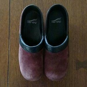 Dansko Shoes - Dansko clogs Suede Tooled leather 38