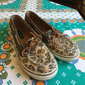 Sperry Top-Sider Other - Sparkly cheetah Sperry Top-sider