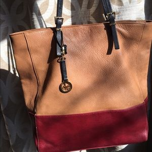 Audrey Brooke Handbags - Audrey Brooke leather large tote - price reduced!