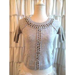 Crochet Sweater Tee