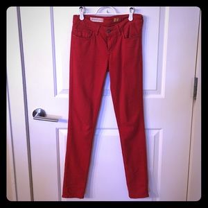 Bright Red Pants