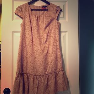 Gap peach dress