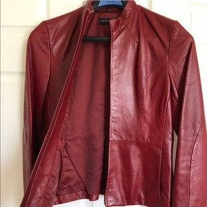 Kenneth Cole • Leather Jacket