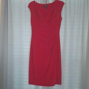 Red Ralph Lauren dress - Size 8