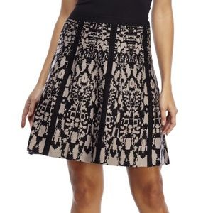 Spense Dresses & Skirts - NWT Spense Jacquard Knit A-line Skirt
