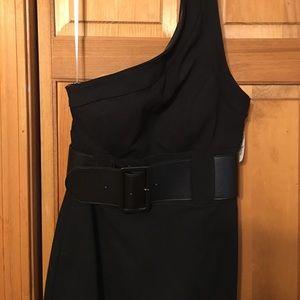 Kay Unger Dresses & Skirts - Kay Unger one shoulder dress.