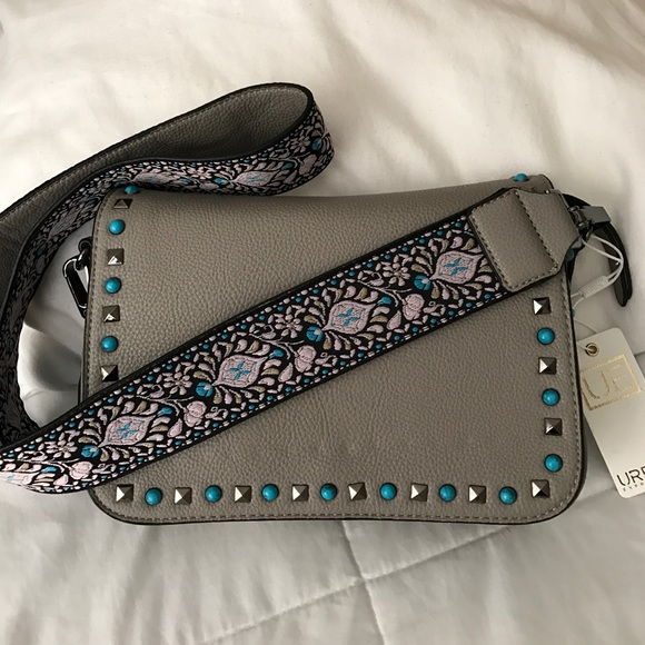 Urban Expressions Handbags - 🎉HP🎉NWT‼️Guitar bag strap bag with studs ....