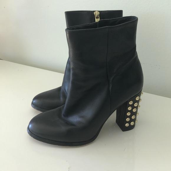 825ff9d8f626 MICHAEL Michael Kors Studded heel booties. M 58bc4acdb4188e29fb010b2c