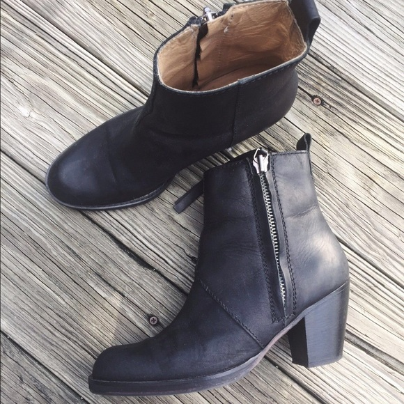 9d3e7246444 Acne Studios Pistol Ankle Boots Black Leather 38 8