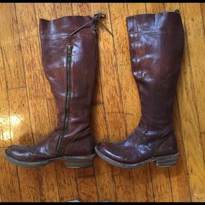 Fiorentini + Baker Shoes - Fiorentini and Baker size 5.5 tall boots.