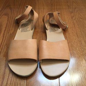 Ancient Greek Sandals Shoes - Ancient Greek Sandals Thalpori Beige Size 35