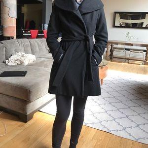 Merona black top coat.