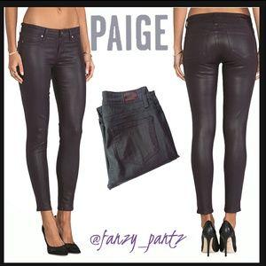 Paige Jeans Denim - SALE 🍀Paige Verdugo Skinny Coated jeans