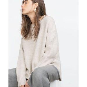 [Zara] Oversized Sweater