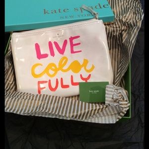 Kate Spade Live Color Fully clutch