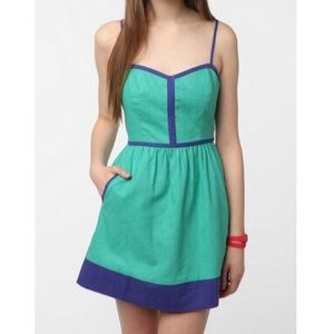 Urban Outfitters Dresses & Skirts - Green and blue UO dress