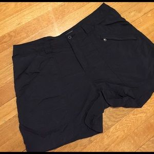 Royal Robbins Pants - Royal Robbins Black hiking shorts, several pockets