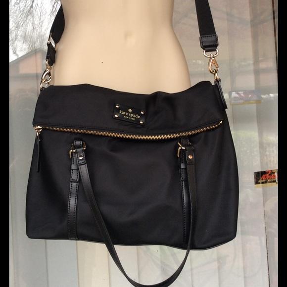 kate spade Handbags - Kate Spade large fold over cross body bag ce75f5da3c470