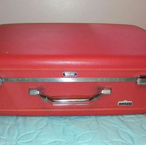 American Tourister Handbags - Red American Tourister Vintage Tiara Suitcase
